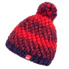 Sunny Beanie Women POPPY RED/BLACK BERRY