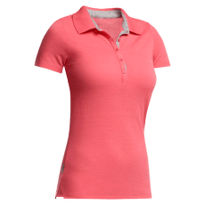 Tech Lite SS Polo Women Grapefruit/Metro HTHR