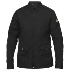 Greenland Zip Shirt Jacket Black