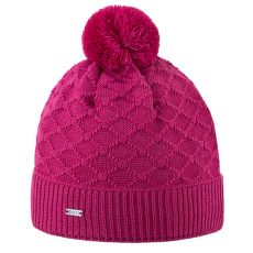 Knitted beanie A124 pink