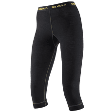 Wool Mesh 3/4 Long Johns Women 950 BLACK
