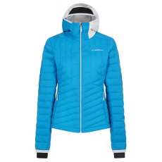 Azaira Down Jacket Women Azure/White