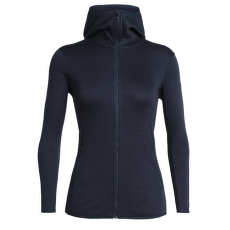 Elemental LS Zip Hood Women Midnight Navy