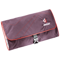 Wash Bag II (39434) aubergine-fire