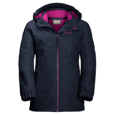 Iceland 3IN1 Jacket Girls (1605263) midnight blue 1910