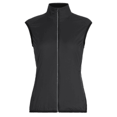 Rush Vest Folds Women Black1