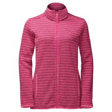 Caribou Striped Jacket Women Hot pink 2092