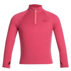Compass LS Half Zip Kids Wild Rose