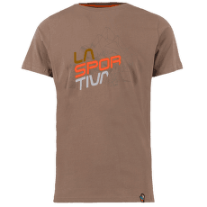 Cubic T-Shirt Men Falcon Brown