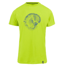 Cross Section T-Shirt Men Apple Green