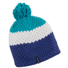 Happy Beanie Women BLUE BIRD/PURPLE BLUE