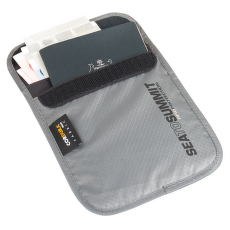 Neck Pouch RFID S Grey