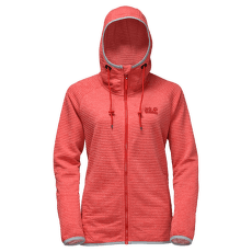 Tongari Hooded Jacket Women Fiery red 2681
