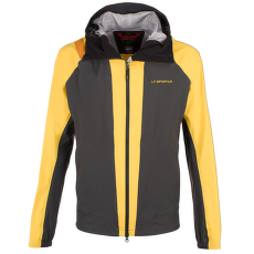Quasar GTX Jacket Men Black/Yellow