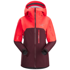 Shashka Jacket Women Crimson Aura