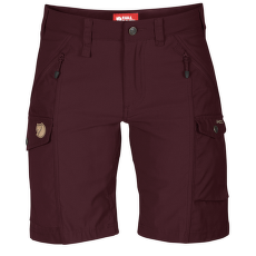 Nikka Shorts Women Dark Garnet