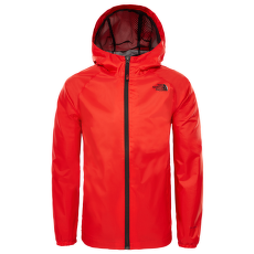 Zipline Rain Jacket Boys FIERY RED