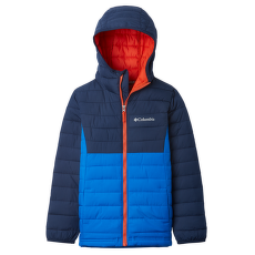 Powder Lite™ Hooded Jacket Boys Super Blue, Collegiate Navy 441