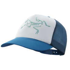 Bird Trucker Hat Cobalt Sun/Delos Grey
