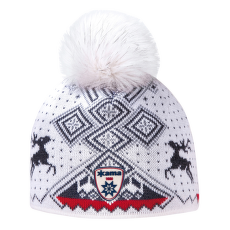 A98 Knitted Hat white