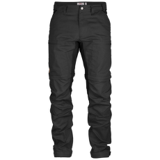 Abisko Lite Trekking Zip-Off Trousers Dark Grey-Black