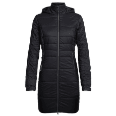 Stratus X 3Q Hooded Jacket Women Black/Jet HTHR IBANS_00611