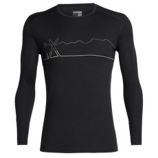 Oasis LS Crewe Single Line Ski Men Black