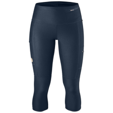 Abisko Trekking Tights 3/4 Women Navy