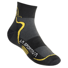 Mid Distance Socks Black/Yellow