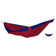 Double Moon Hammock(+Express Bag) burgundy/royal blue