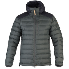 Keb Touring Down Jacket Men Stone Grey-Black
