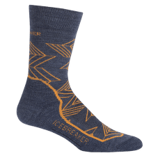 Hike+ Light Crew Intersecting Arrows Men Fathom HTHR/Koi/Midnight Navy