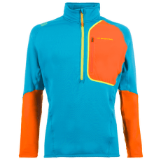 Millennium Pullover Men Tropic Blue/Pumpkin
