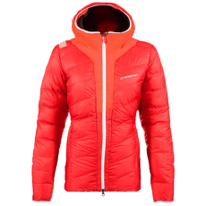 Frequency Down Jacket Women Garnet/Pumpkin
