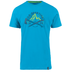 Hipster T-Shirt Men Tropic Blue