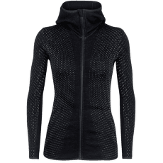 Elemental LS Zip Hood Crystal Women Black001