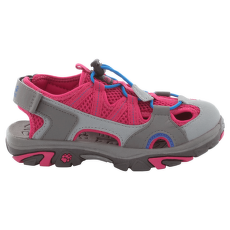 Lakewood Cross Sandal Kids azalea red 2081