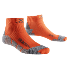 Run Discovery Socks Orange Sunshine/Grey Moulin
