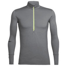 Incline LS Half Zip Men Metal/CITRON