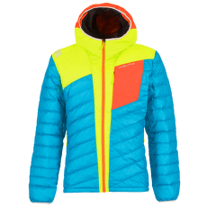 Conquest Down Jacket Men Tropic Blue/Apple Green