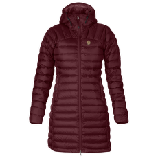 Snow Flake Parka Women Dark Garnet