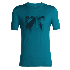 Tech Lite SS Crewe Geometry of Geology Men Alpine