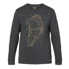 Greenland Printed Long Sleeve Men Stone Grey