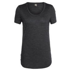 Solace SS Scoop Women Black HTHR IBANS_00728