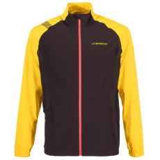 Levante Jacket Men Black/Yellow