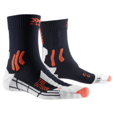 Trek Outdoor Socks Blue-Kurkuma orange