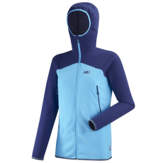 K Lightgrid Hoodie Women LIGHT BLUE/BLUE DEPTHS