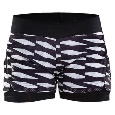Breakaway Shorts 2 in 1 Women 9120 P TRELLIS BLACK