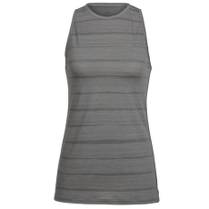 Aria Sleeveless Combed Lines Women Metal/Snow