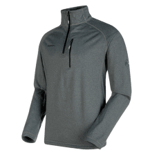 Runbold ML Half Zip Pull Men black mélange 0033